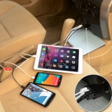Multi 4-Ports USB Car Charger Adaptive Fast Charging Quick Charge 2.0